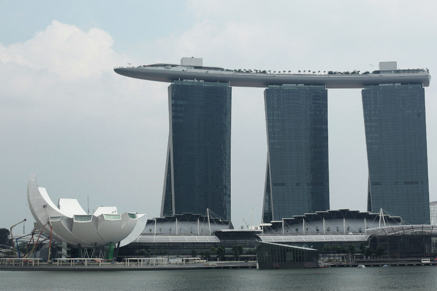 Singapore's New ArtScience Museum Nears Completion